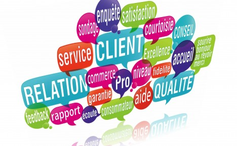 Gestion relation client (nuage de mots clés)