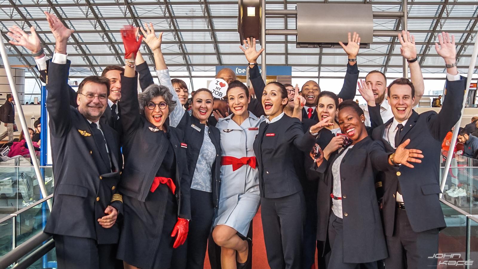 Air France I Love My Job Xavier Querat Hement